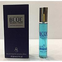 Antonio Banderas Blue Seduction Мужской мини парфюм 20 ml.