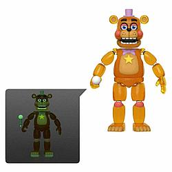 "Five Nights at Freddy's ""Pizzeria Simulator"" Фигурка Рок-звезда Фредди, светящаяся"