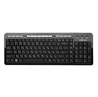 Клавиатура проводная Crown CMK-666 USB, черная