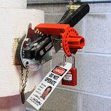 Блокиратор-зажим для дискового затвора, фото 2