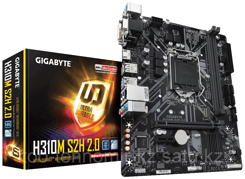 S-1151 Gigabyte GA-H310M-S2H LGA 1151v2, iH310, 2DDR4,4xSTA3,1xM.2,1xD-Sub,1xDVI-D,1xHDMI,mATX