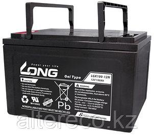 Гелевый аккумулятор LONG LGK100-12N (12В, 100Ач), фото 2