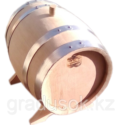 Бочка дубовая 25 литров обжиг сильный, фото 2