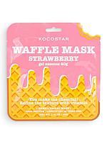 KOCOSTAR / Тонизирующая вафельная маска для лица Клубничный фреш, фото 1