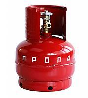 Баллон 5 литров (2 кг) (вентиль)