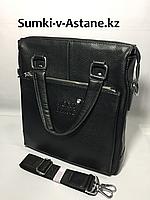 Мужская деловая сумка.Вертикальная.А4.Высота 30 см, ширина 27 см, глубина 8 см., фото 1