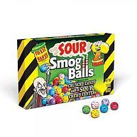 Драже с кислым центром картонная коробка Smog Balls 85гр (12шт - упак) /TOXIC WASTE/Пакистан