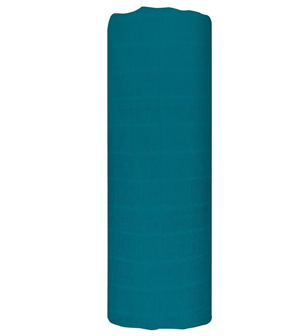 Муслиновая пеленка  FOGGY BLUE 120*120 см