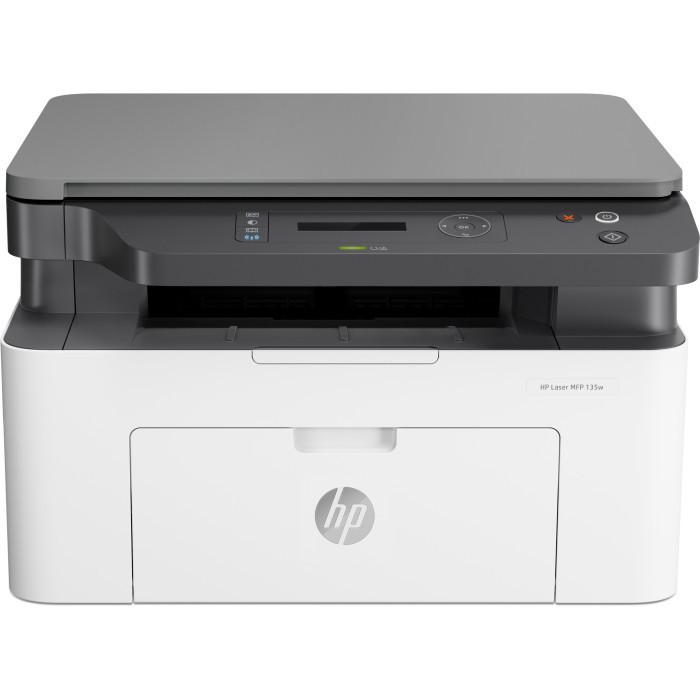 HP 4ZB83A Laser MFP 135w Printer, A4, печать 1200x1200 МФУ