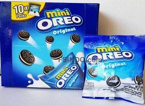 Печенье Oreo Mini Original 20.4гр Мини Орео Ванильный крем (10шт-упак)
