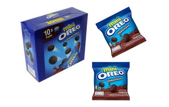Печенье Oreo Mini Choco creme 20,4гр Мини Орео Шоколадный крем (10шт-упак)