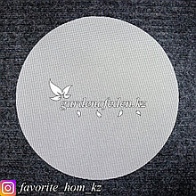 Силиконовый, антипригарный коврик для мантоварки. Материал: Силикон. Цвет: Белый. Диаметр: d= 34см.