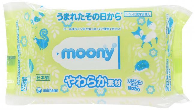 Салфетки Moony (80 шт)