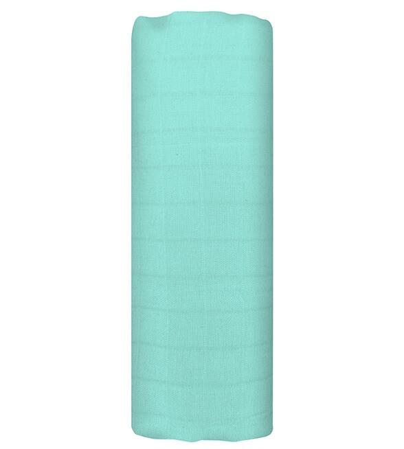 Муслиновая пеленка  DREAMY GREEN 120*120 см