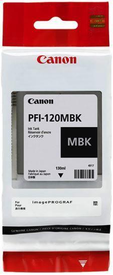 Canon2884C001 Картридж струйный PFI-120MBK matte black матовый черный 130 мл