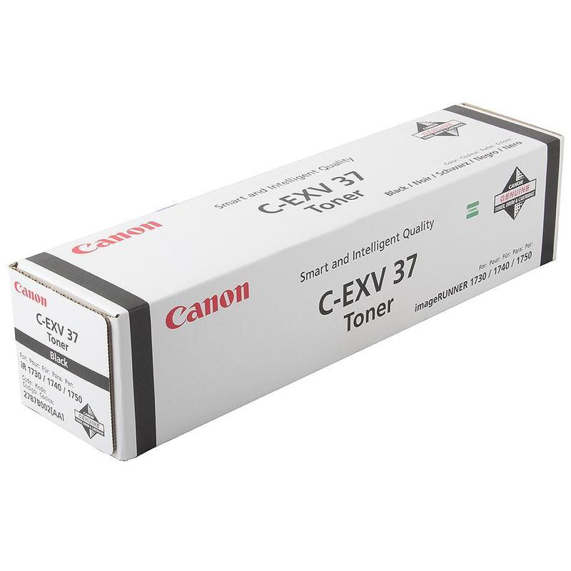 Canon 2787B002 Тонер-картридж C-EXV37 BLACK  ресурс 15100 стр