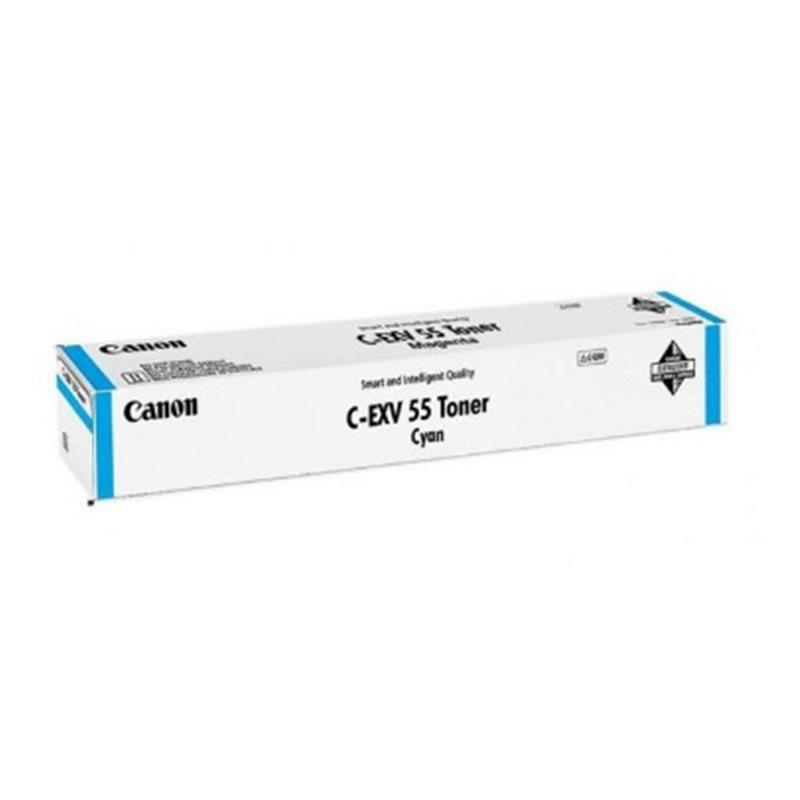 Canon 2183C002 тонер лазерный C-EXV55 Голубой для imageRUNNER C256i, C256 ресурс 18000 стр