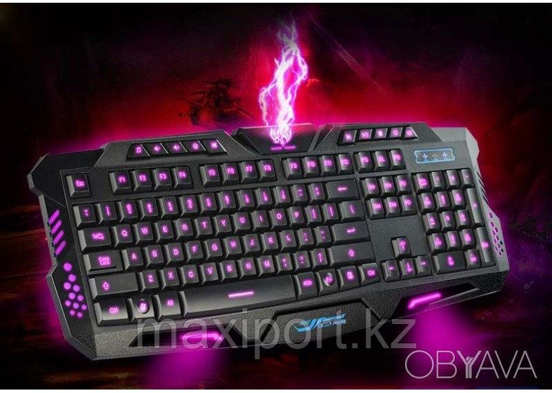 M-200 Pro игровая клавиатура USB с подсветкой 3 цветов