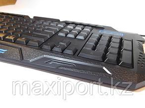 M-200 Pro игровая клавиатура USB с подсветкой RGB 3 цветов, фото 2