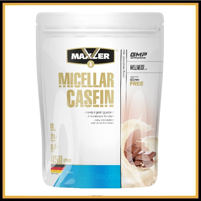 Maxler Micellar Casein 450гр (молочный шоколад)