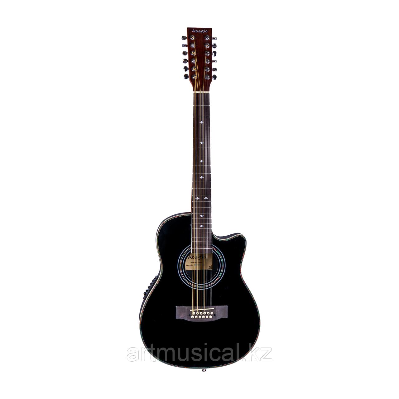 Электро-акустическая 12-струнная гитара Adagio (Avation)