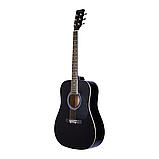 Акустическая гитара Agnetha AAG-E120 BK, фото 3