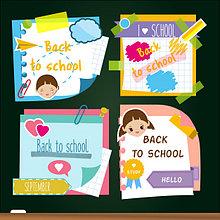 Клейкая бумага для заметок , Стикеры детские