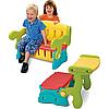 Детская скамейка парта Grown up 3032-03