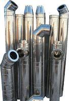 "Сэндвич-труба ""Sferra"" . 150х230.  (нерж-нерж). 0,8мм. L-1000. Уфа., фото 1"