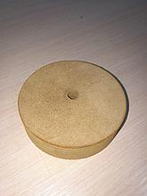Кожаный круг для доводки  режущего инструмента