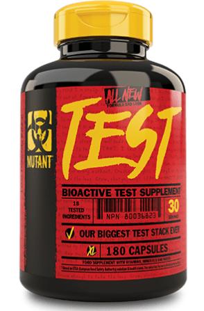 Mutant test. 180 caps