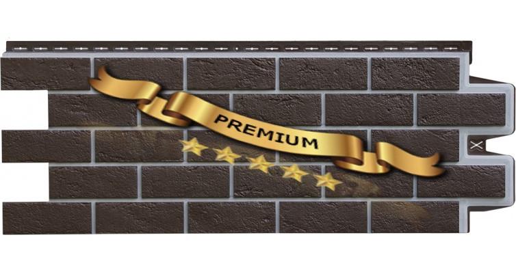 Фасадные панели Grand Line Premium - кирпич.