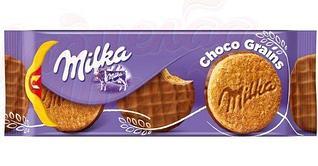 Печенье Milka Choco Grains  (со злаками) 126 гр (20шт-упак)