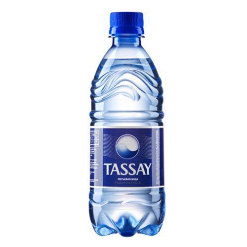 Минеральная вода TASSAY с газом газа, 0,2л, пластик