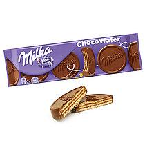Вафли Milka Choco Wafer 150гр (14шт-упак)