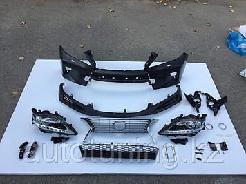 Комплект рестайлинга (facelift) на LEXUS RX270/350 2009-2011 под 2012-2015 F SPORT