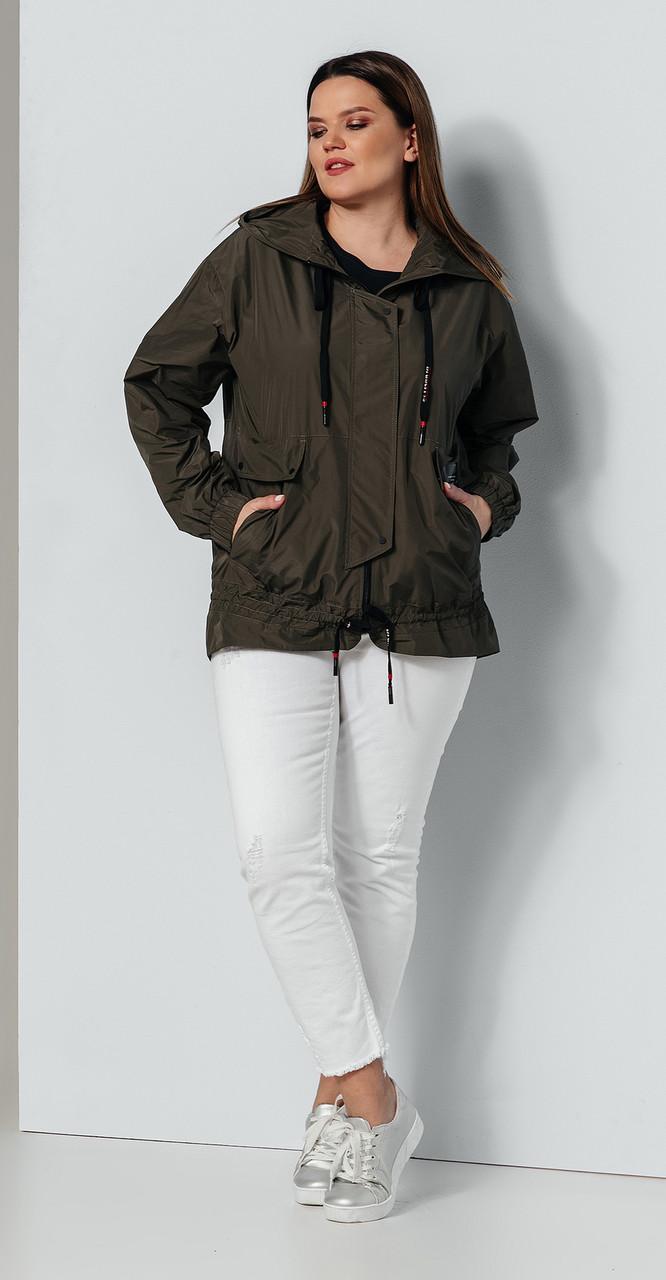 Куртка Olegran- Д-593, хаки, 46