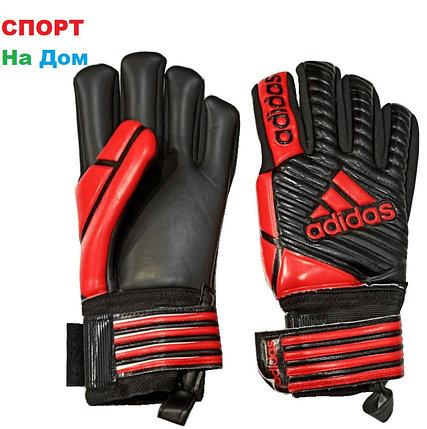 ВРАТАРСКИЕ ПЕРЧАТКИ Adidas Размер 5,6,7 (Цвет-Красный), фото 2
