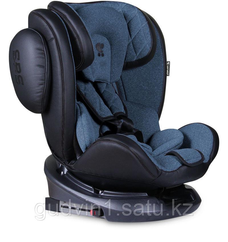 Автокресло 0-36 кг Lorelli  AVIATOR ISOFIX Черный-синий/ Black&Blue 1904