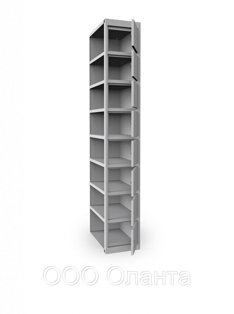 Дополнительная секция 8 ячеек к шкафу ШР18/300 (300х500х1850) арт. ШР18/300ДС
