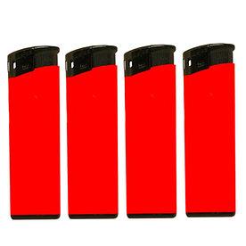Зажигалка под нанесения логотипа, Красная