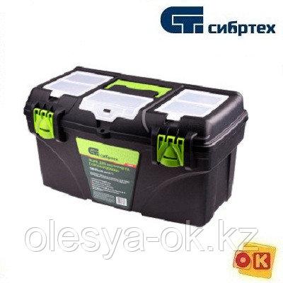 """Ящик для инструментов 16"""", 410x210x195 мм. СИБРТЕХ 90807, фото 2"""