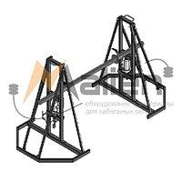 ДК-2ГПР Домкрат кабельный гидравлический разборный, г/п до 2000 кг, до № 16