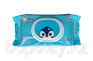 Подарок - Салфетки Mello 60шт (при покупке 2-х упаковок Мелло)
