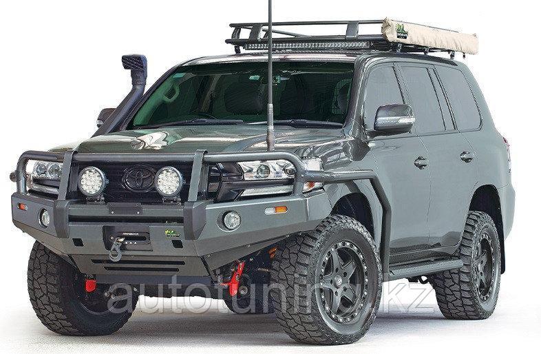 Силовой бампер для Toyota Land Cruiser 200 / Тойота Ленд Крузер 200- IRONMAN 4X4 Подходит на модель с 2015 год