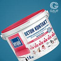 BETON KONTAKT,Сцепляющая (адгезионная) акриловая грунтовка, *Морозостойкая, 14 кг