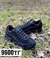 Кроссовки 95 чёрные замшевые, фото 1