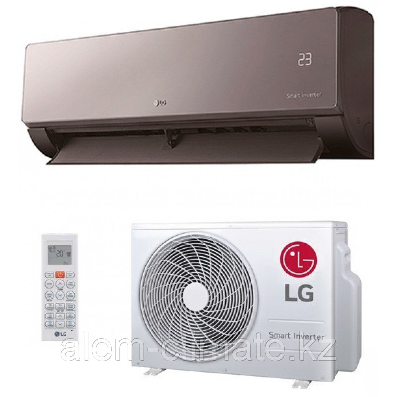 Настенный кондиционер LG AC12SQ ( до 40м2.) серия ARTCOOL MIRROR INVERTOR NEW