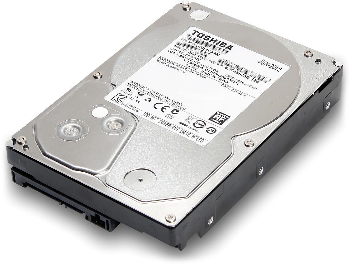Жёсткий диск Toshiba DT01ACA100 1TB