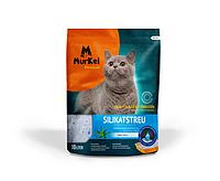 Murkel, Муркель силикагелевый наполнитель для кошек с ароматом алоэ вера, уп. 10л (4,5кг)
